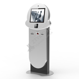Curved Design Queuing Kiosk