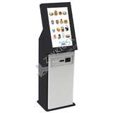 Floor-Standing Cashless Food Ordering Kiosk